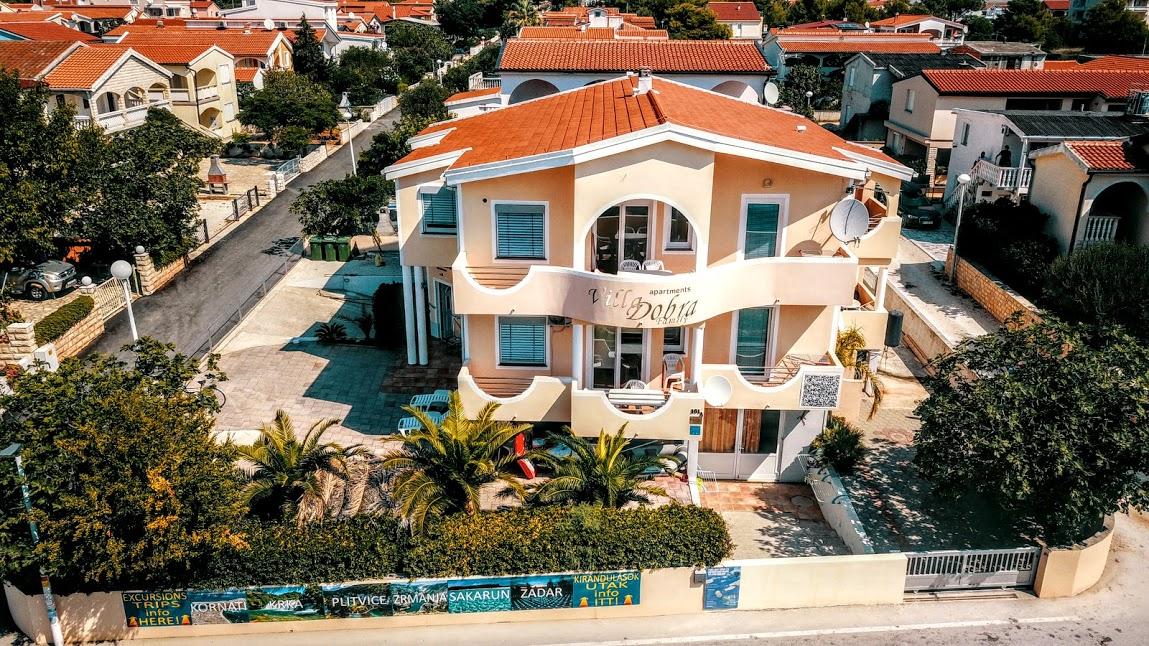 apartman horvátország villa dobra